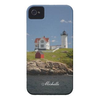 Cape Neddick Lighthouse iPhone 4 Case-Mate Cases
