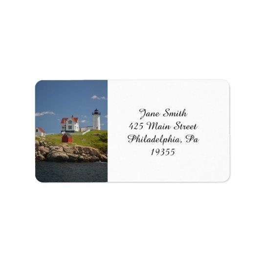 Cape Neddick Lighthouse Label