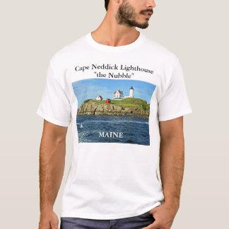 Cape Neddick Lighthouse-the Nubble, Maine T-Shirt