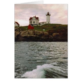 """Cape Neddick """"Nubble Light"""" Card"""