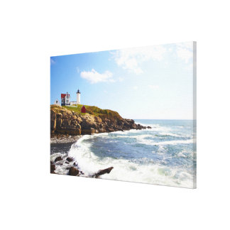 Cape Neddick 'Nubble' Lighthouse in Maine Canvas Print