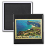 Cape of Good Hope South Africa Square Magnet