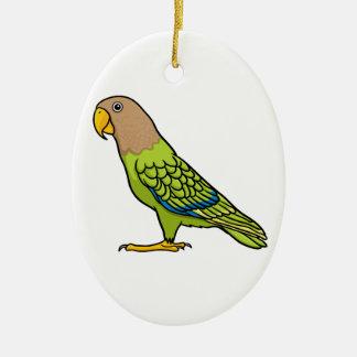 Cape Parrot Christmas Ornament
