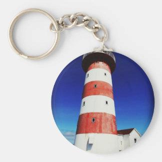 Cape Pine Lighthouse Key Ring