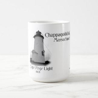 Cape Poge Light - Massachusetts Basic White Mug