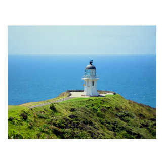 Cape Reinga Lighthouse, Northland, New Zealand Poster