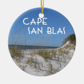 Cape San Blas Florida Christmas Ornament