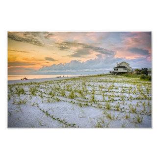 Cape San Blas Florida Photo Print