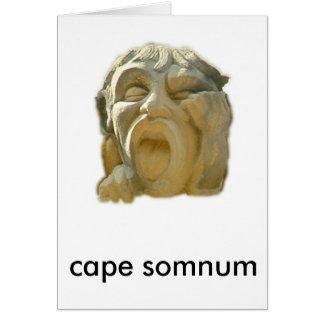 cape somnum card