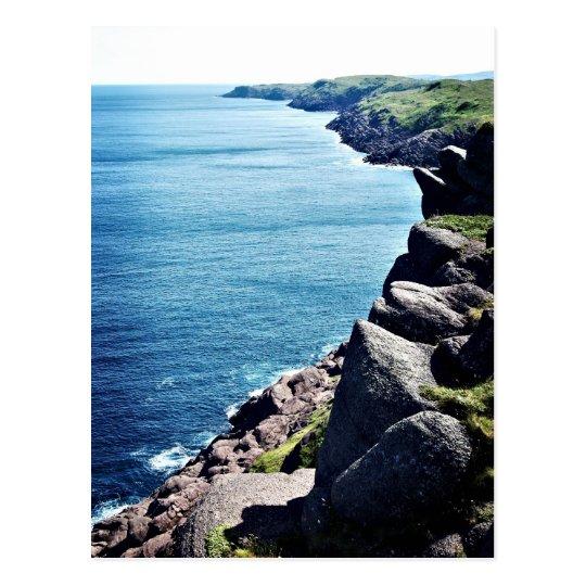 Cape Spear Cliffs Postcard