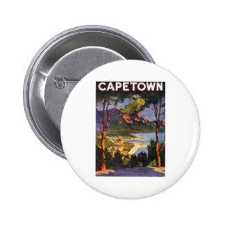 Cape Town 6 Cm Round Badge