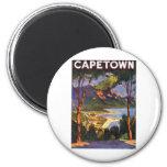 Cape Town 6 Cm Round Magnet