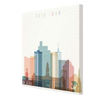 Cape Town, Africa | City Skyline Canvas Print