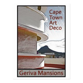 Cape Town Art Deco - Geriva Mansions Postcards