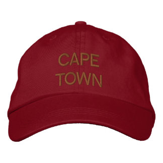 Cape Town Cap Embroidered Baseball Caps