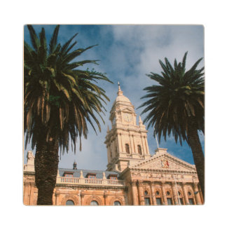 Cape Town City Hall, Cape Town, Western Cape Wood Coaster