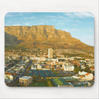 Cape Town Cityscape With Table Mountain Mouse Mat