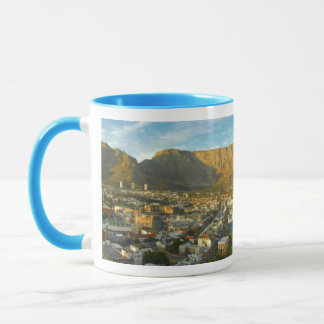 Cape Town Cityscape With Table Mountain Mug