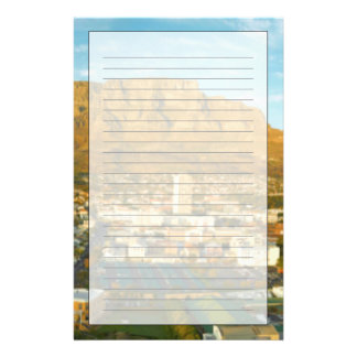 Cape Town Cityscape With Table Mountain Stationery
