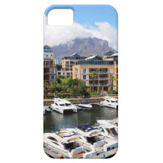 Cape Town harbour and Table Mountain Barely There iPhone 5 Case
