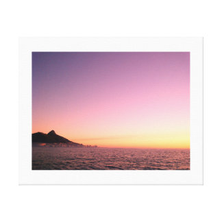 Cape Town Lions Head Canvas Print