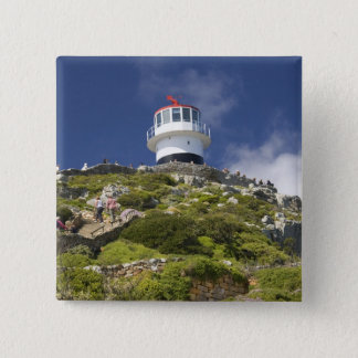 Cape Town, South Africa. A lighthouse on the 15 Cm Square Badge