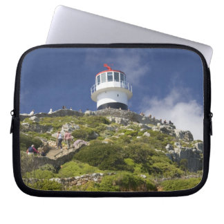 Cape Town, South Africa. A lighthouse on the Laptop Sleeve