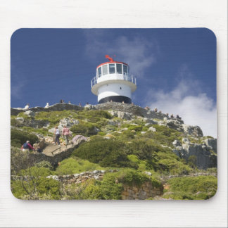 Cape Town, South Africa. A lighthouse on the Mouse Mat