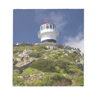 Cape Town, South Africa. A lighthouse on the Notepad