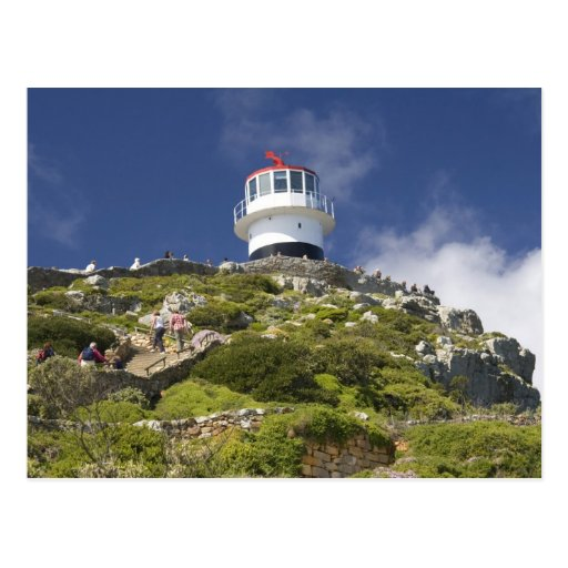 Cape Town, South Africa. A lighthouse on the Post Cards