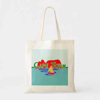 Cape Town South Africa Budget Tote Bag