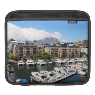 Cape Town, South Africa Harbour iPad Sleeve