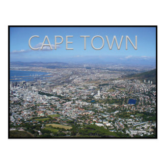 Cape Town - South Africa Postcard