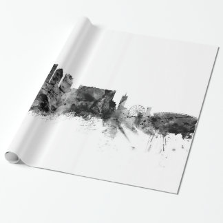 Cape Town South Africa Skyline Wrapping Paper