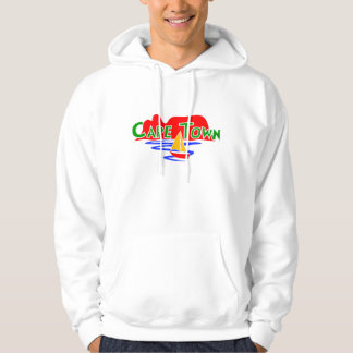 Cape Town South Africa Table Mountain Mens Hoodie