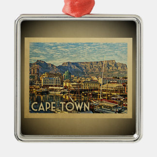Cape Town South Africa Vintage Travel Ornament
