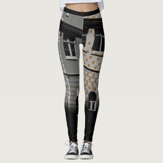 Cape Town Street view Leggings