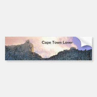 Cape Town Table Mountain Bumper Sticker