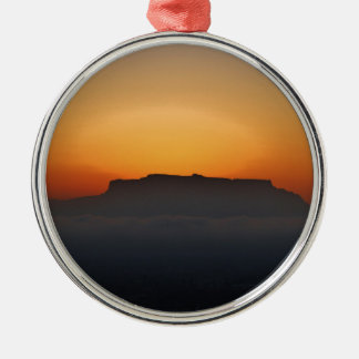 Cape Town Table Mountain Christmas Ornament