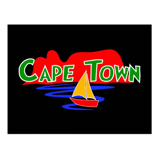 Cape Town Table Mountain South Africa Post Card