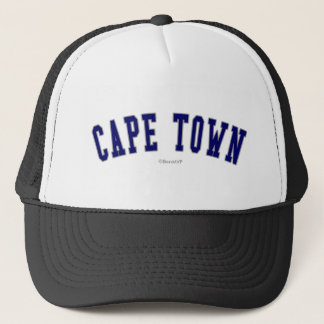 Cape Town Trucker Hat