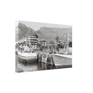 Cape Town Waterfront Harbor Canvas Print