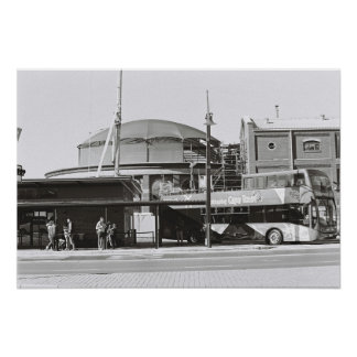 Cape Town Waterfront Kodak Film Poster