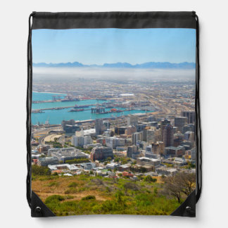 Cape Town, Western Cape, South Africa 3 Drawstring Bag