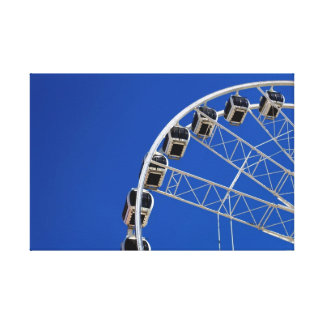 Cape Town's Ferris Wheel Canvas Print