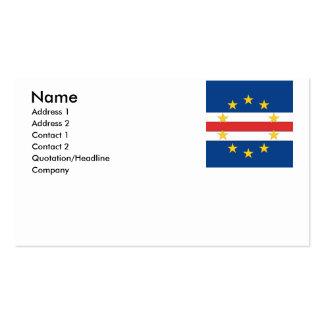 Cape Verde Business Cards