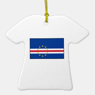 Cape Verde –Cape Verdean Flag Christmas Ornaments