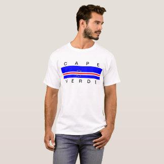 Cape Verde country flag symbol long T-Shirt