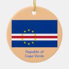 CAPE VERDE* Custom Christmas Ornament