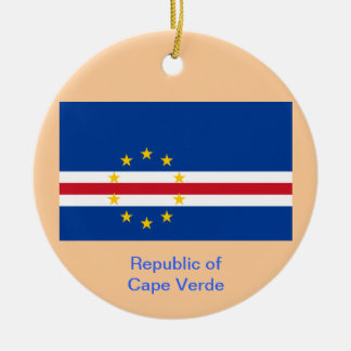 CAPE VERDE* Custom Christmas Ornament